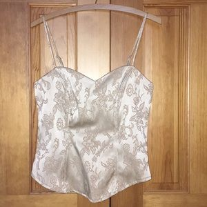 Gold Floral Camisole